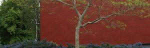 Pignon mur rouge